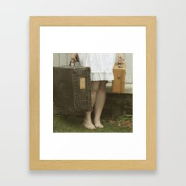 There is a Road Framed Art Print