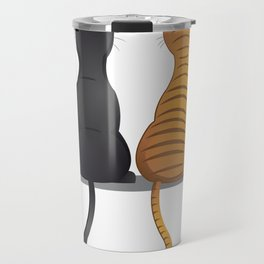cat buddies Travel Mug