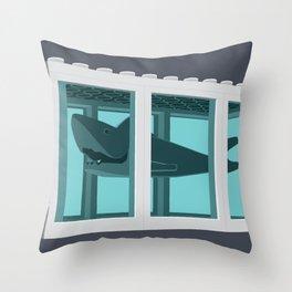 Hirst's Shark Tank Throw Pillow