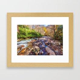 Rocky River Framed Art Print