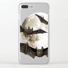 Creatures Of The Night Clear iPhone Case