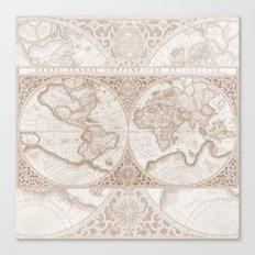 Terra in Tan Canvas Print