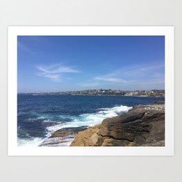 Clovelly Beach, NSW, Australia Art Print