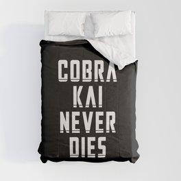 Cobra Kai Never Dies Comforters