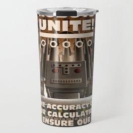 Robots Unite Travel Mug