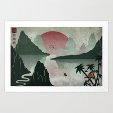 Two Of Seven Art Print