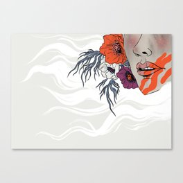 White as Milk, Red as Blood: Sister Canvas Print