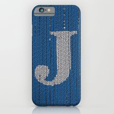 Winter clothes. Letter J II. iPhone 6s Slim Case