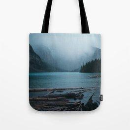 Foggy Moraine Tote Bag