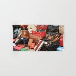 Women's Designer Handbags Hand & Bath Towel