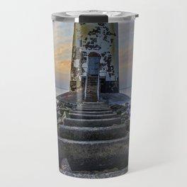Sunset at the Lighthouse Travel Mug