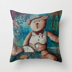 No One Else Can Do It For You (2015) Throw Pillow
