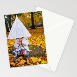 Girl with a Parasol Stationery Cards