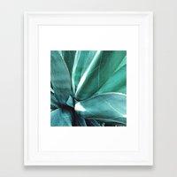 cactus Framed Art Prints featuring Cactus by Alexandra Str