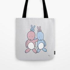 Bunny Ears Tote Bag