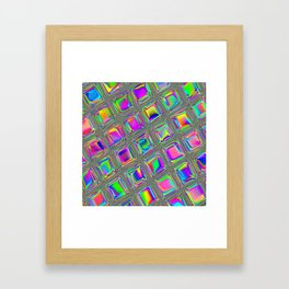 Opal Glass Framed Art Print
