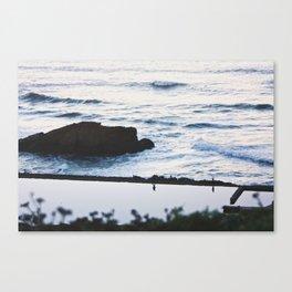 Sutro Baths // Reflections Canvas Print