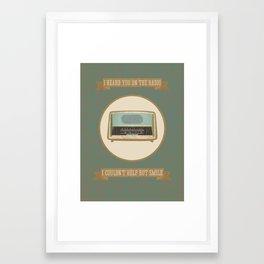 Fleet Foxes 1 Framed Art Print