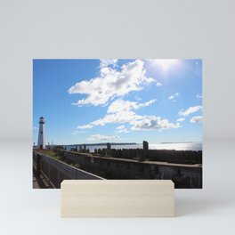 Wawatam Lighthouse Mini Art Print
