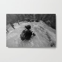 Alone at the Midpoint - Squamish Metal Print