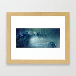 Gotcha....  Framed Art Print
