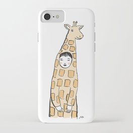 Giraffe Suit iPhone Case