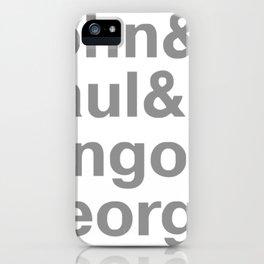 Jhon Paul iPhone Case