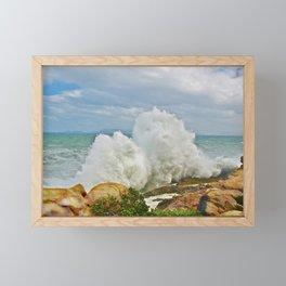 Balanced Arrival Framed Mini Art Print