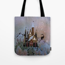 Magic Castle Tote Bag