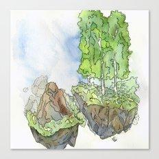 Floating Islands Canvas Print