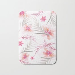 Super summer pink Bath Mat