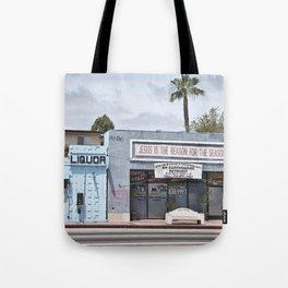 Liquor Store San Pedro Tote Bag
