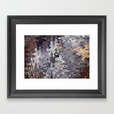 Puddles and Reflections Framed Art Print