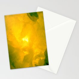 Textures (Yellow version) Stationery Cards