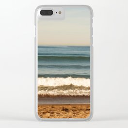 Beach photograph. Layer Cake Clear iPhone Case