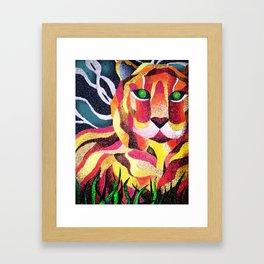 The Fearless Framed Art Print