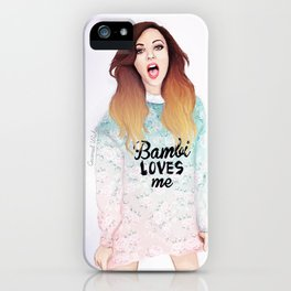Jade loves Bamby iPhone Case