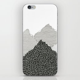 Snow Mountains iPhone Skin