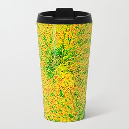 Lime And Orange Summer Cocktail Travel Mug