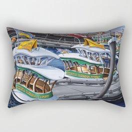 Victoria Harbour Ferries Rectangular Pillow
