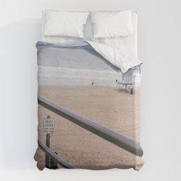 The Rails of Sand Duvet Cover