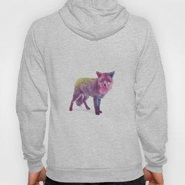 Watercolour Fox Hoody