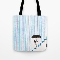 But Then He Got his Feet Wet... And Freaked Out... Tote Bag