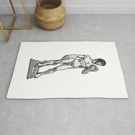 Rugby David by Michelangelo Rug