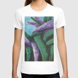 Buddleia abstract T-shirt