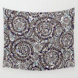 Year of the Snake mosaic Wall Tapestry