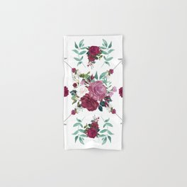 Floral Pattern with Arrows Hand & Bath Towel