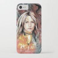 kill bill iPhone & iPod Cases featuring Kill Bill by RJ Artworks
