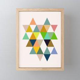 Abstract #742 Framed Mini Art Print