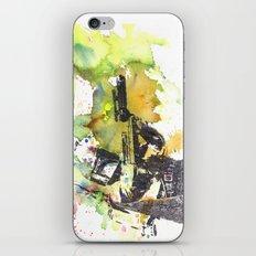Boba Fett Firing off Green Color iPhone & iPod Skin